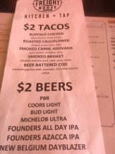 Freight House $2 Taco Tuesday