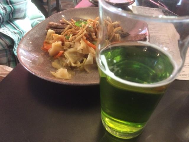 Green Beer & Corned Beef