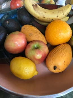 Fruit in our kitchen