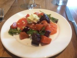 Beet & Grapefruit Salad @Nel Centro PDX