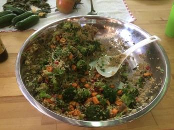 A Super Food Salad, Santa Fe