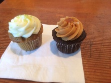 My cupcakes from Saint Cupcakes