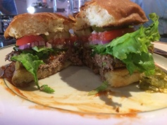 Plaza Southside Cafe Impossible Burger