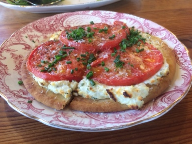 The Tomato and Cheese Flatbread