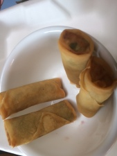 Spring Rolls at Thai Vegan