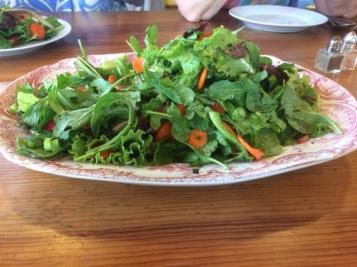 The large salad