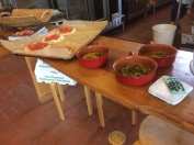 The Kitchen's food displayed