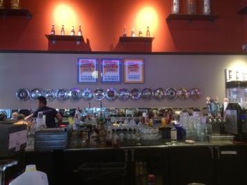 Plaza Southside Cafe Bar Interior