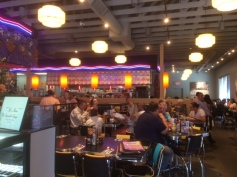 Interior of Plaza Southside Cafe