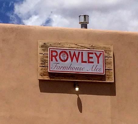 Rowley's Farmhouse Ale Sign