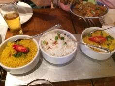 Yellow & White Rice @ Tujuh Maret