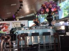 Inside at the bar Cobra Cafe