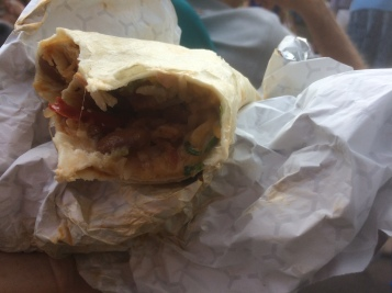 Another view of my burrito