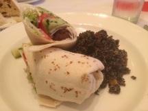 The Falafel Wrap
