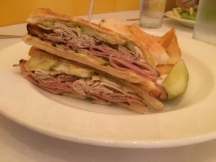 The Pork & Ham Sandwich
