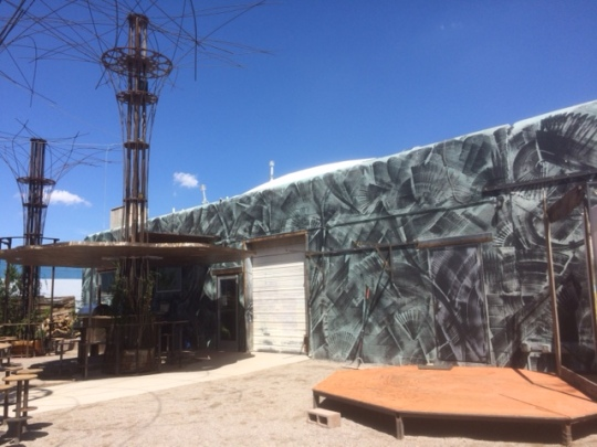 The outside of Dialogue Brewing