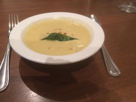 Corn soup @ Paper Dosa