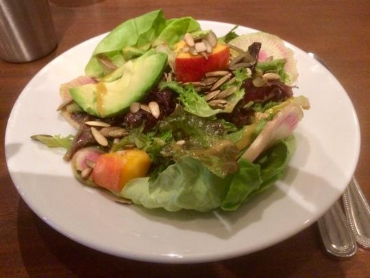 Peach & Avocado Salad @ Paper Dosa