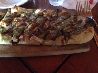 An individual Butternut Squash Pizza
