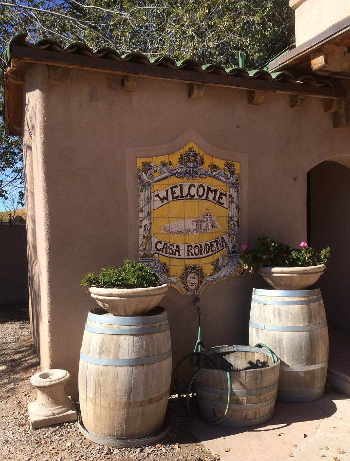 Casa Rondena Tasting Room out Front