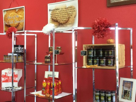 Celina's Biscochitos Store More Displays