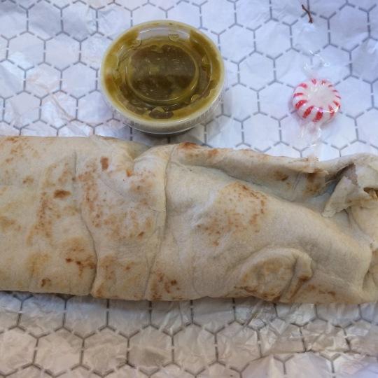 A Chile Rellenos Burrito