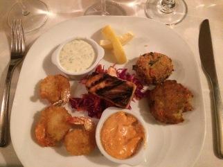 The Seafood Sampler