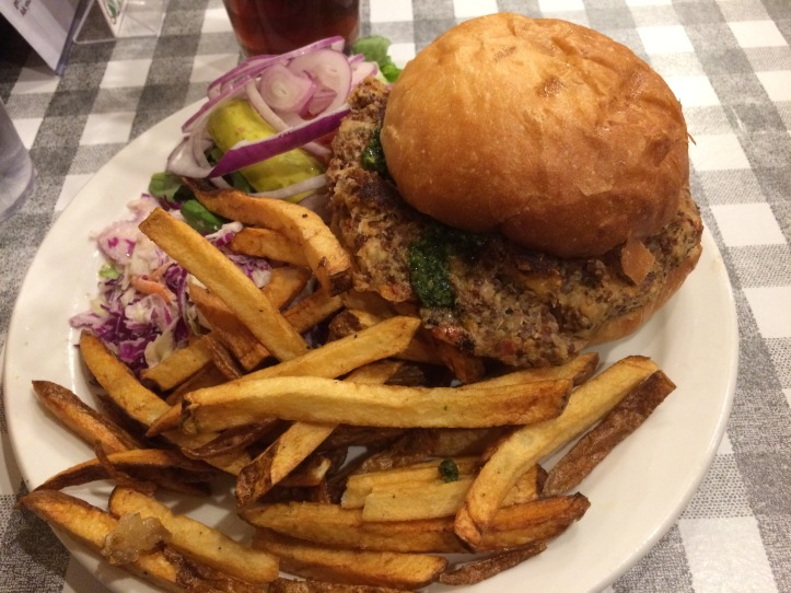 Cowgirl's Nut Burger