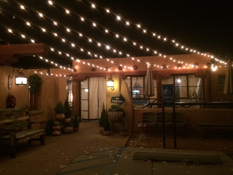 The Festive Outside of Farm & Table
