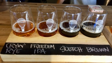 A Second Flight of High and Dry Beer