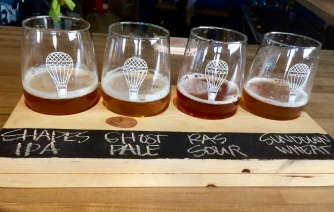 A Flight of High and Dry's Beer