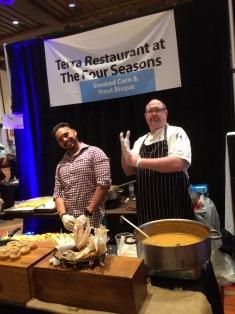 Terra Restaurant Display & Chef