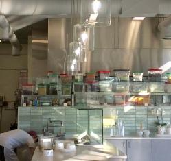A view from the hot food bar at Mata G