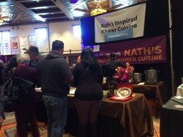 Chef Nath's display