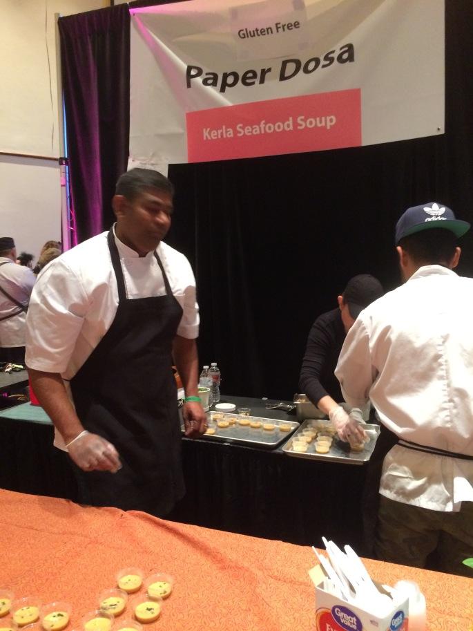 Paper Dosa's Chef Paulraj Karuppasamy