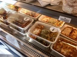 A selection of vegetarian food at Mata G