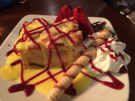 The Bread Pudding at Social Kitchen & Bar
