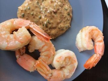Arroyo Vino's Shrimp Remoulade