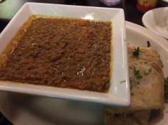 Jambo's Lentils with pita