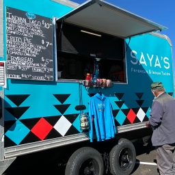 Saya's Frybread & Indian Tacos Food Truck, Santa Fe